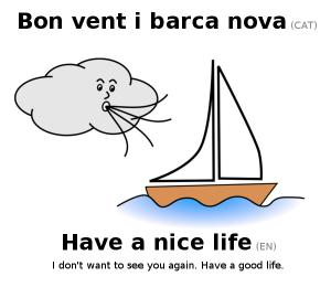 modismes catalans en anglès