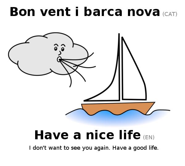 Bon vent i barca nova!