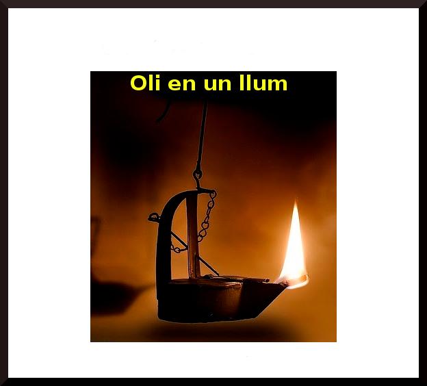 Oli en un llum