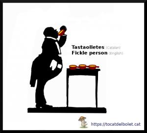 tastaolletes en anglès