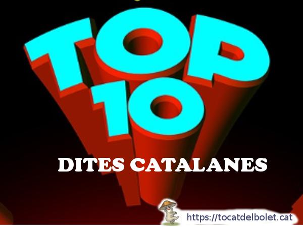 Les millors dites populars catalanes