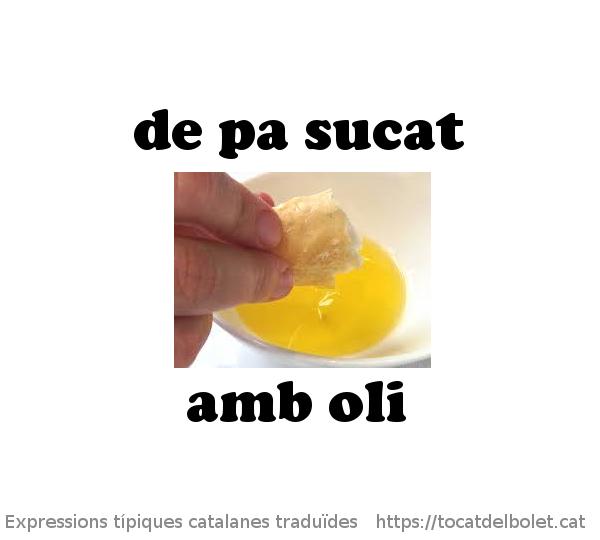 De pa sucat amb oli