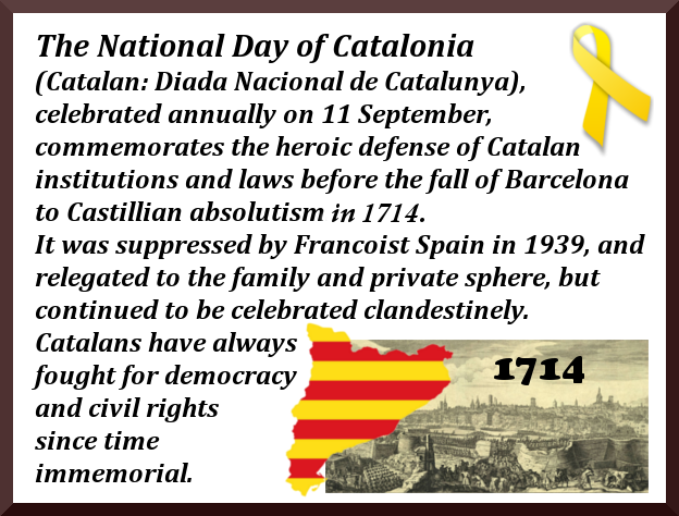 Catalan National Day National Day of Catalonia.
