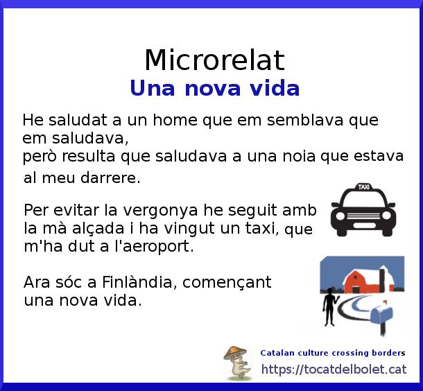 Microrelat en català una nova vida relat breu en català minirelat en català+ microhistoria en català