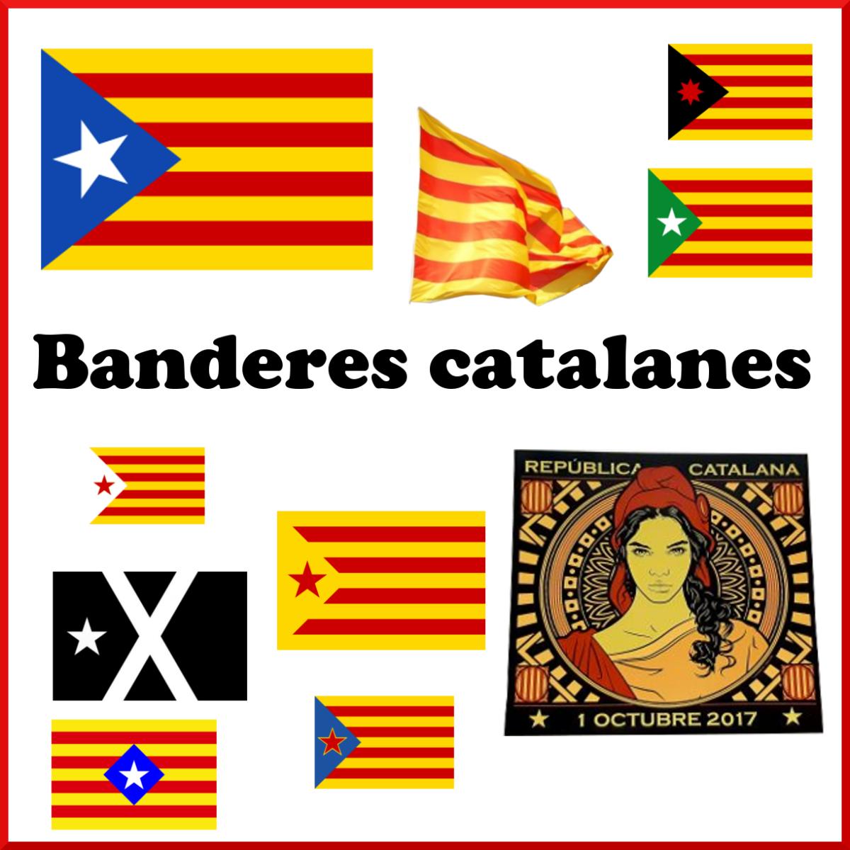 Banderes catalanes