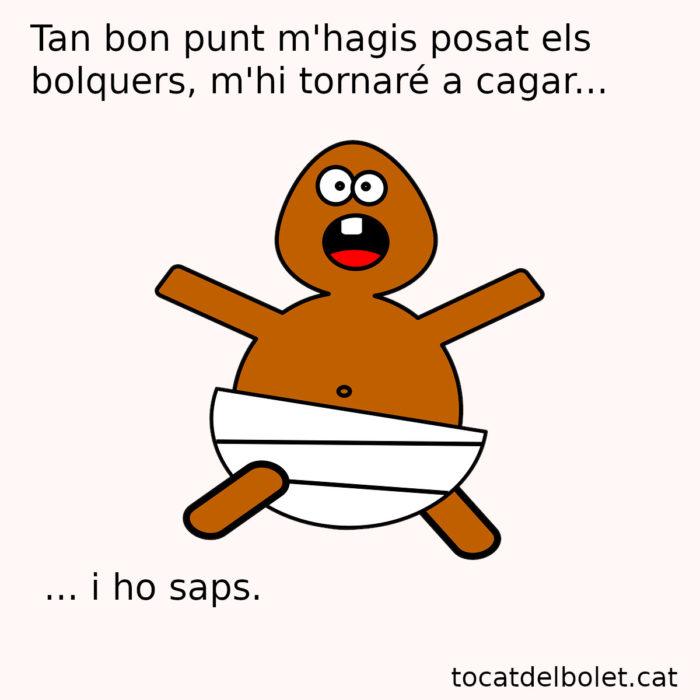 meme simi acudit curt català acudits en català humor català bebè bolquers