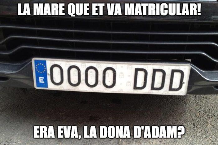 la mare que et va matricular meme humor català acudits