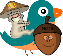 Nuts on twitter!