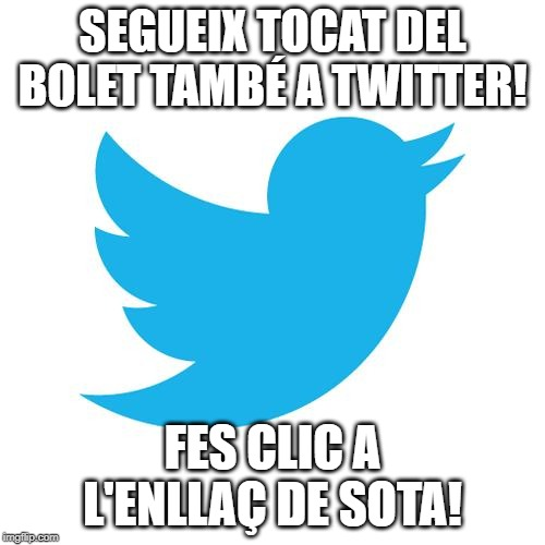 twitter de Tocat del Bolet