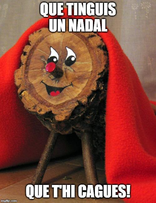 mem acudit de Nadal humor de nadal en català dites, agudeses, humorades, pensades, sortides. meme Nadal