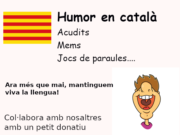 Col·labora a la internacionalització i difusió de la llengua catalana