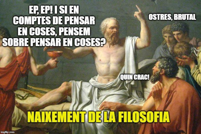 Acudits i mems en català naixement de la filosofia mems acudits català memes en català