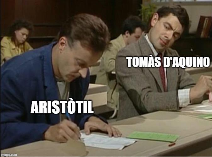Aristòtil Tomàs d'Aquino