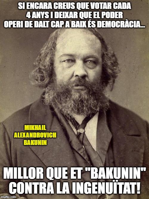 Bakunin mem anarquisme anarquista humor