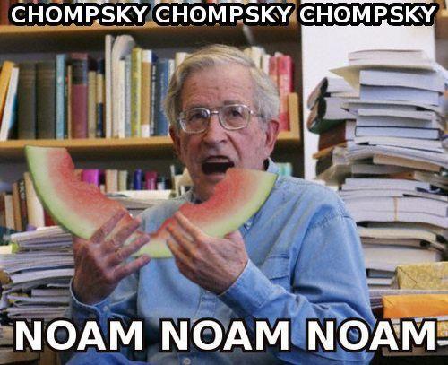 Noam Chomsky meme mem català filosofia