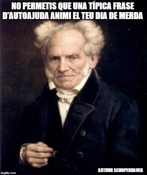 acudit Arthur Schopenhauer català
