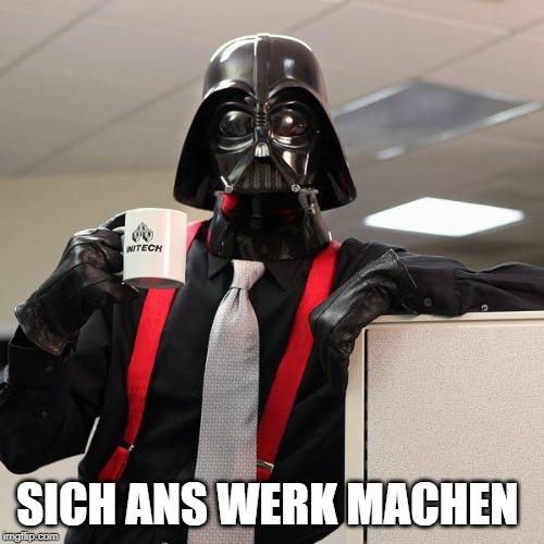 posar fil a l'agulla en alemany