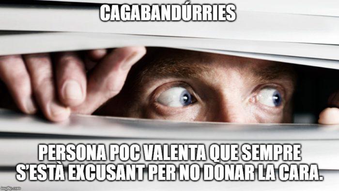 cagabandúrries insults en català