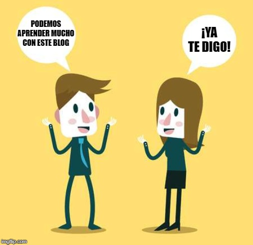 ja hi pots pujar de peus en castellà espanyol ya te digo