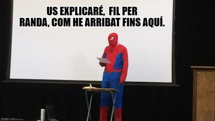fil per randa expressions en català