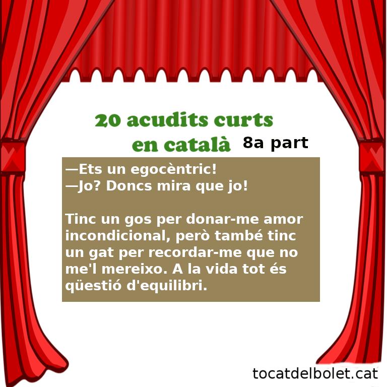 20 acudits curts Vuitena part