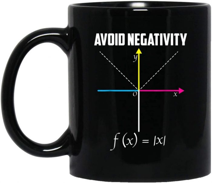 Avoid negativity = Evita la negativitat (Tassa)