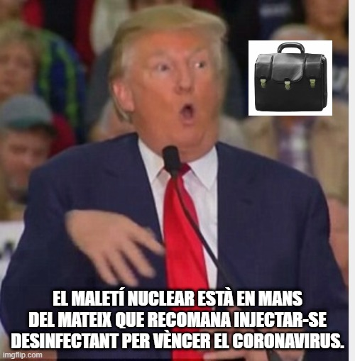 acudits coronavirus acudits pandèmia acudits confinament memes mems covid-19 Donald Trump