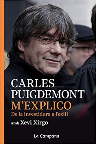 llibre Carles Puigdemont M'explico