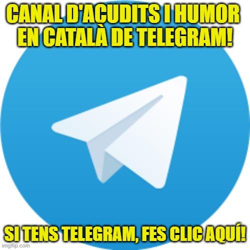 acudits i humor telegram