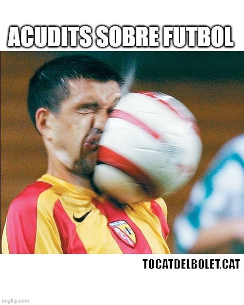 Acudits sobre futbol