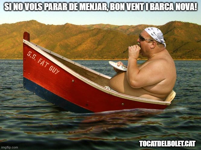 bon vent i barca nova acudit chiste