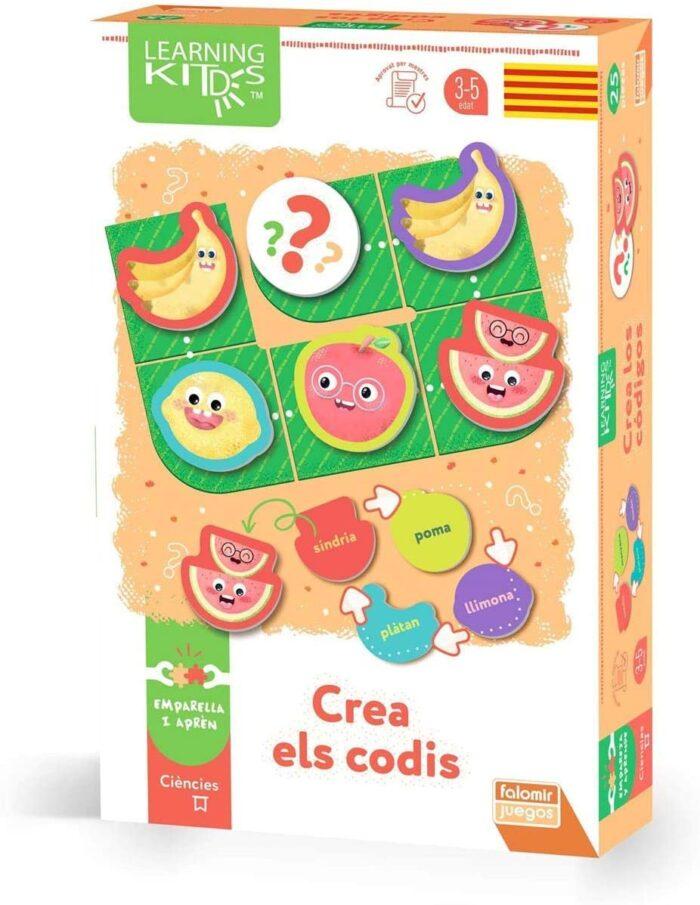 joc de taula educatiu i creatiu per a fomentar la creació de patrons i codis joguets en català