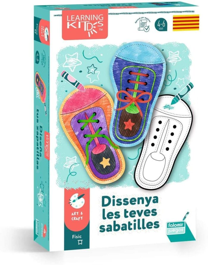 jocs en català dissenya les teves sabatilles aniversari reis