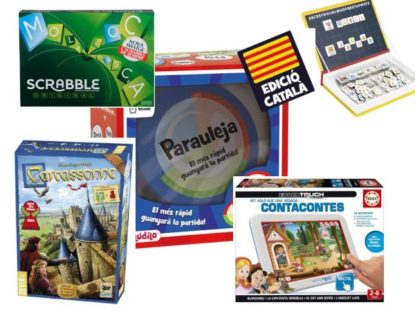 Jocs i joguines en català
