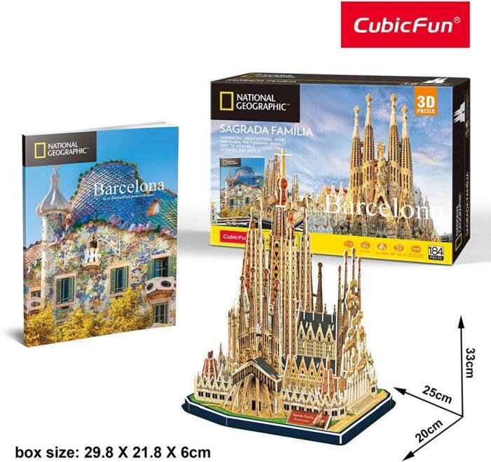maqueta puzzle de la Sagrada Família Barcelona jocs joguines Catalunya Antoni Gaudí