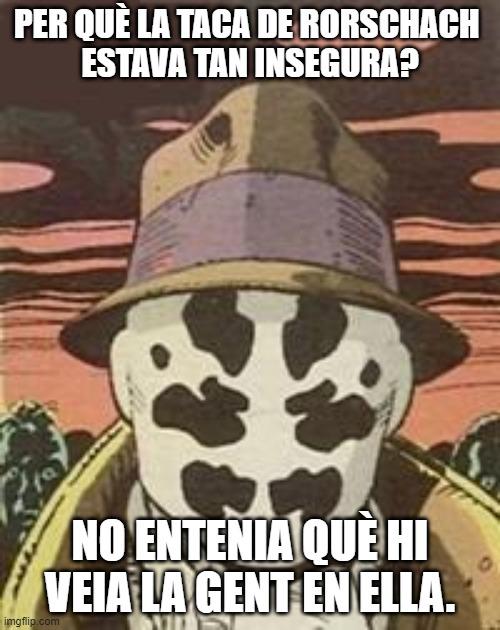 acudits mems meme català psicologia Rorschach