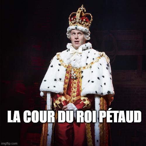 La cour du Roi Pétaud